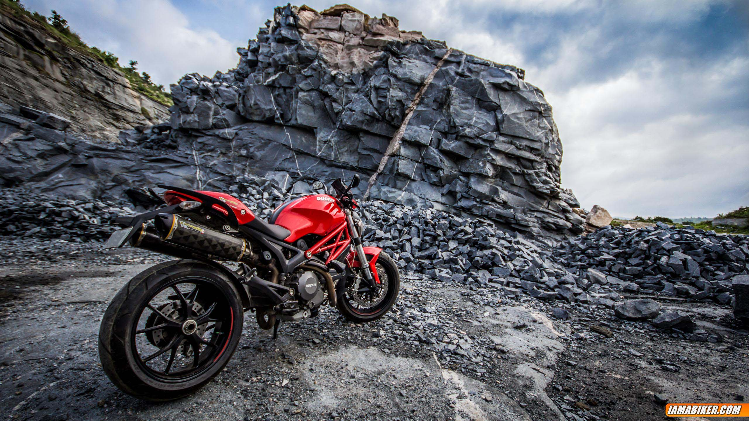Ducati Monster 796 wallpapers - 08