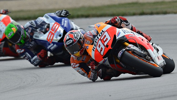 marc marquez indianapolis elbow scraping