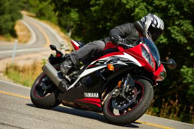 2014 Yamaha R6 Red