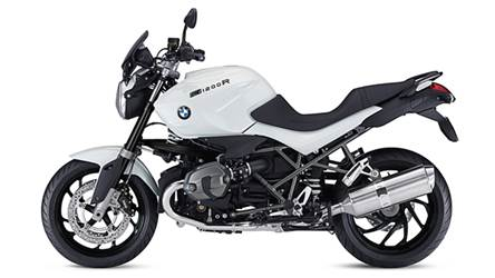 BMW R 1200 R DarkWhite special edition