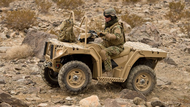 Polaris ATV's bags deal with German Army