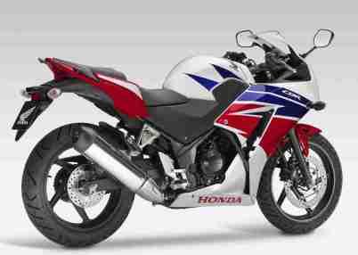 new honda cbr300r tri colour