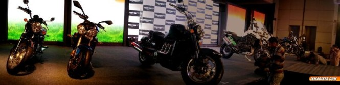 Triumph Motorcycles India line up