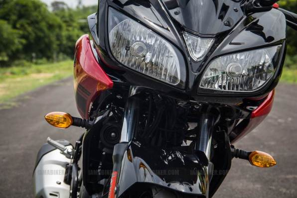 Yamaha Fazer India review - 19