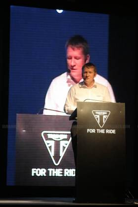 triumph motorcycles india launch - 02