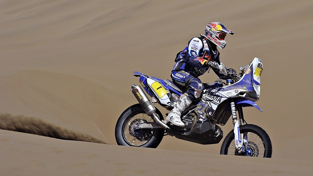 Dakar 2014 Yamaha Stage 10 cyril despres