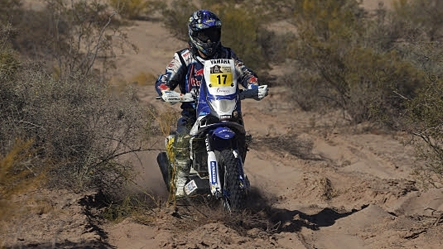 Dakar 2014 Yamaha Stage 5 update
