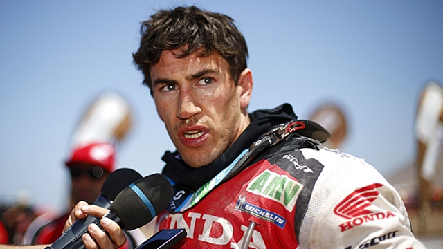 Joan Barreda Dakar 2014 Stage 9 Honda