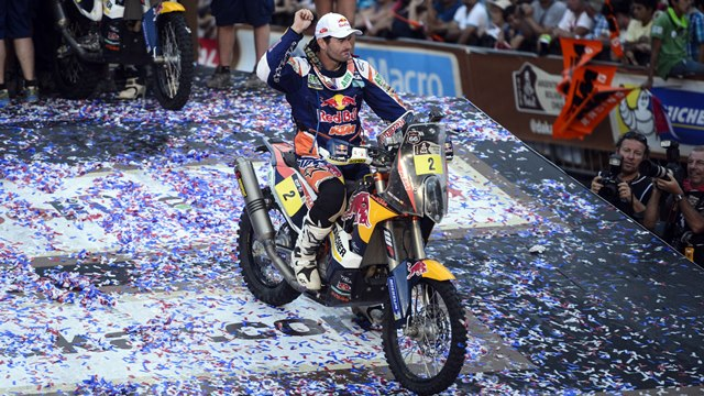 Marc Coma wins the Dakar 2014 Challenge