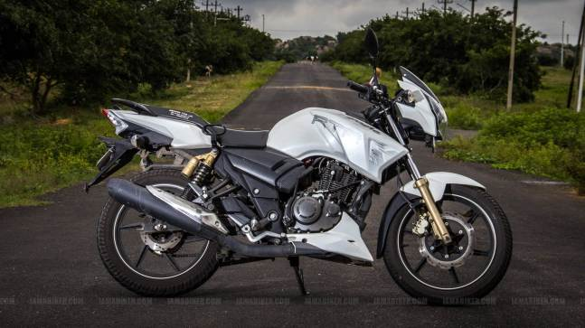 TVS Apache RTR 180 review - 03