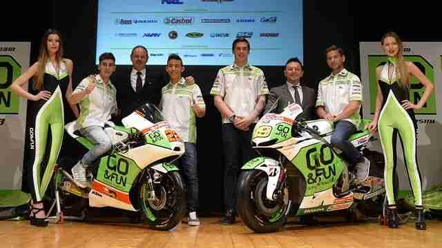 2014 GO&FUN Honda Gresini MotoGP Team