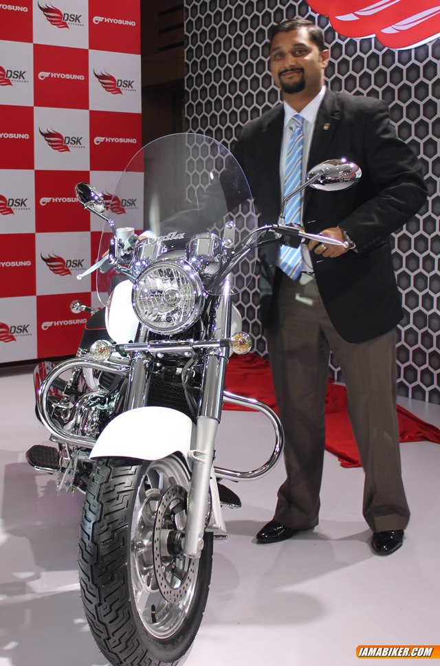 hyosung aquila gv250 launched in India