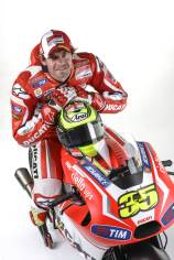 Cal Crutchlow on his Ducati GP14