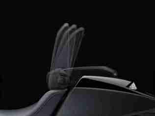 2014 Honda NM4 Vultus backrest