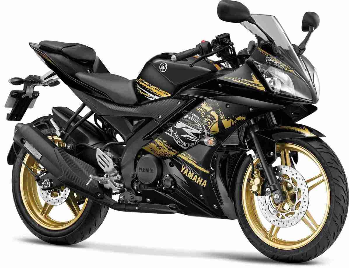 2014 Yamaha YZF-R15 colour Grid Gold