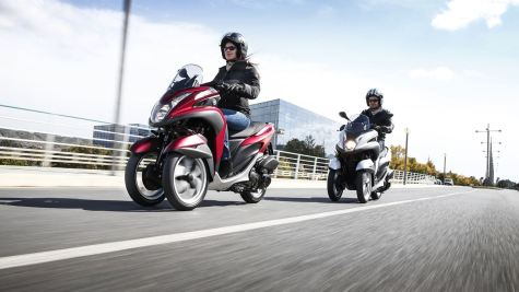 2015 Yamaha Tricity scooter - 04