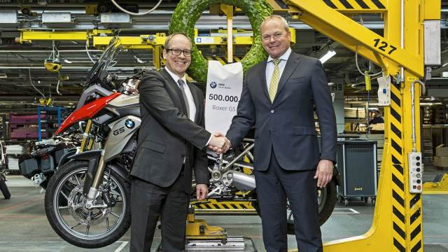BMW rolls out its 500,000th Boxer GS