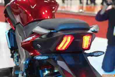 New Pulsar CS 400 tail light