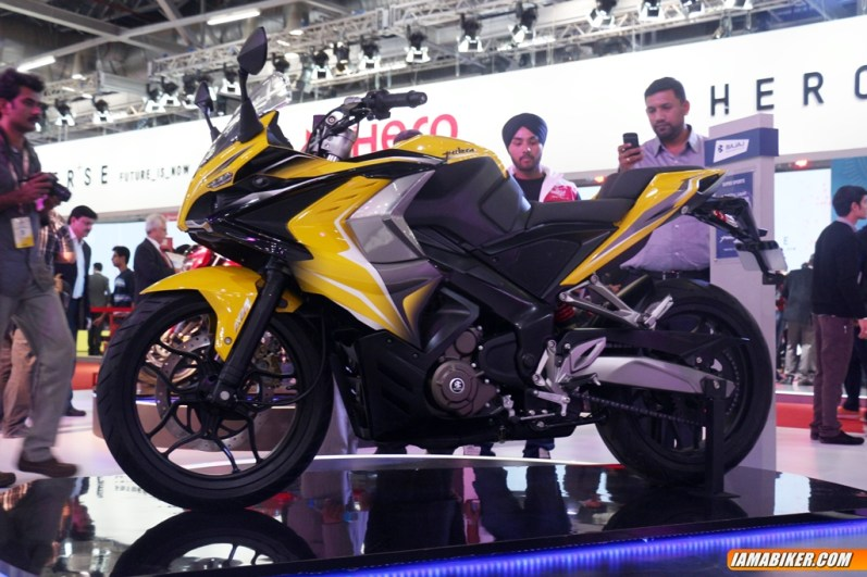 New Pulsar SS400 side view