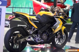 New Pulsar SS400 back view