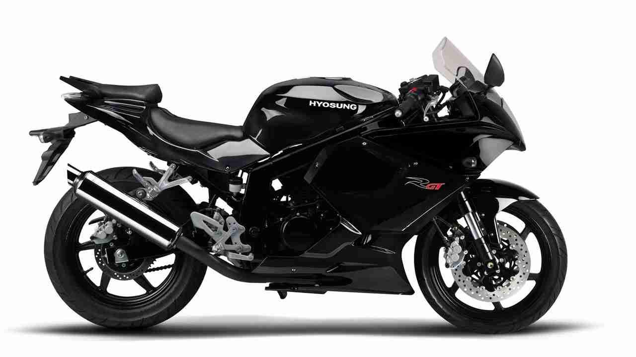 2014 Hyosung GT250R Black