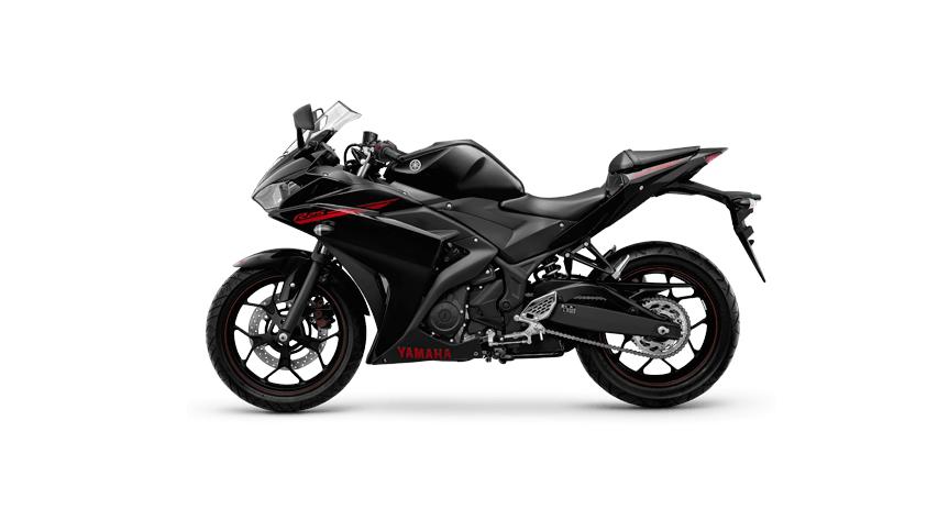 Yamaha YZF-R25 colour - Predator black
