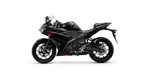 Yamaha YZF-R25 colour - Predator black
