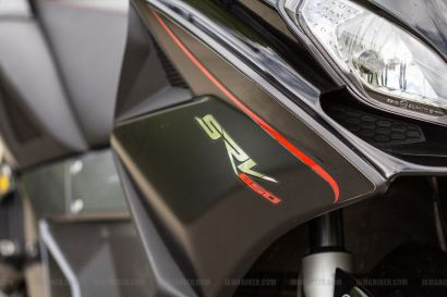 Aprilia SRV 850 badge
