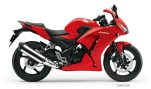 New Honda CBR 250R colour - red