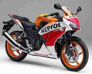 New Honda CBR 250R Repsol edition