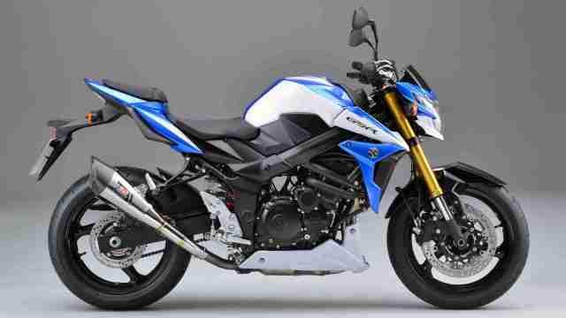 Suzuki GSR750Z special edition