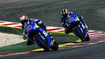 Suzuki MotoGP Barcelona test