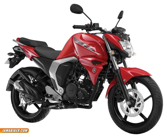 new yamaha fz 2.0 Scorching Red colour