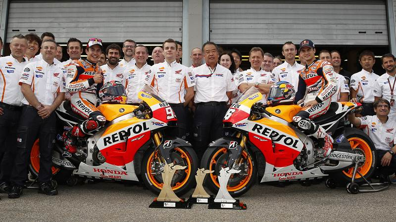 Repsol Honda MotoGP collaboration to continue till 2017