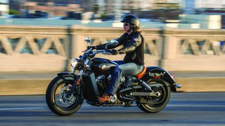 2015 Indian Scout launched - black