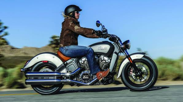 2015 Indian Scout launched - silver