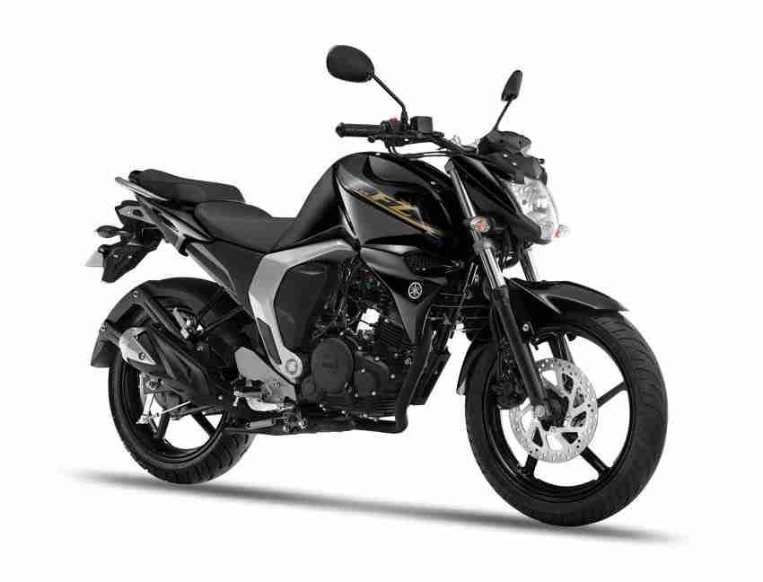 Yamaha FZ colour options - black