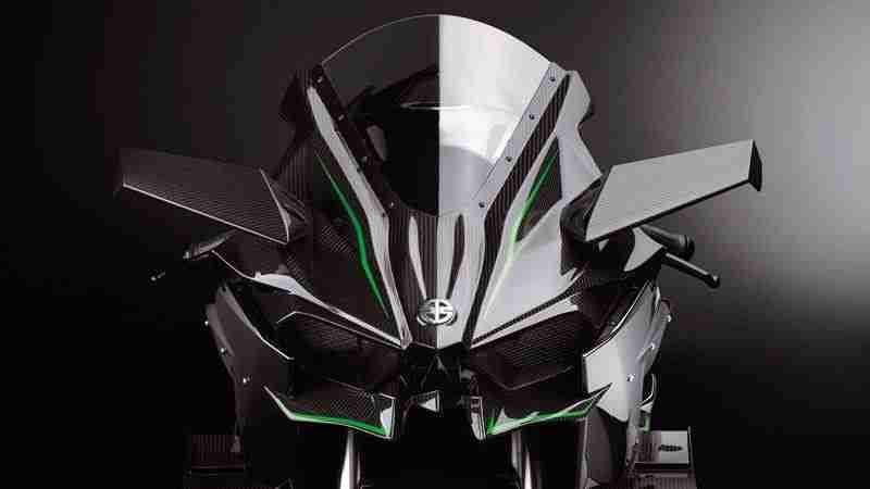 2015 Kawasaki Ninja H2R featured