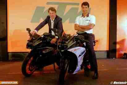 KTM RC 390 RC launch India - 03