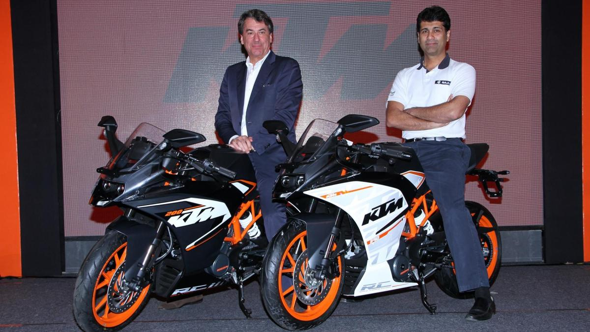 KTM Rc390 RC200 launched
