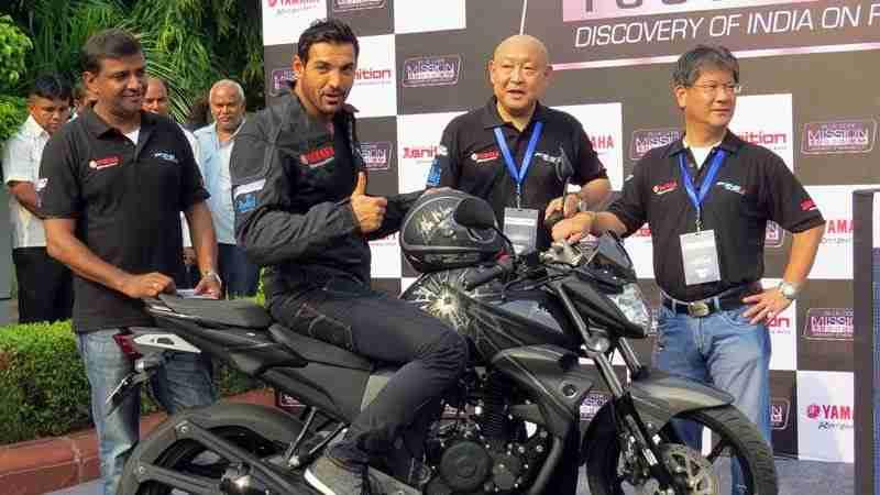 Yamaha's Mission 10000km John Abraham