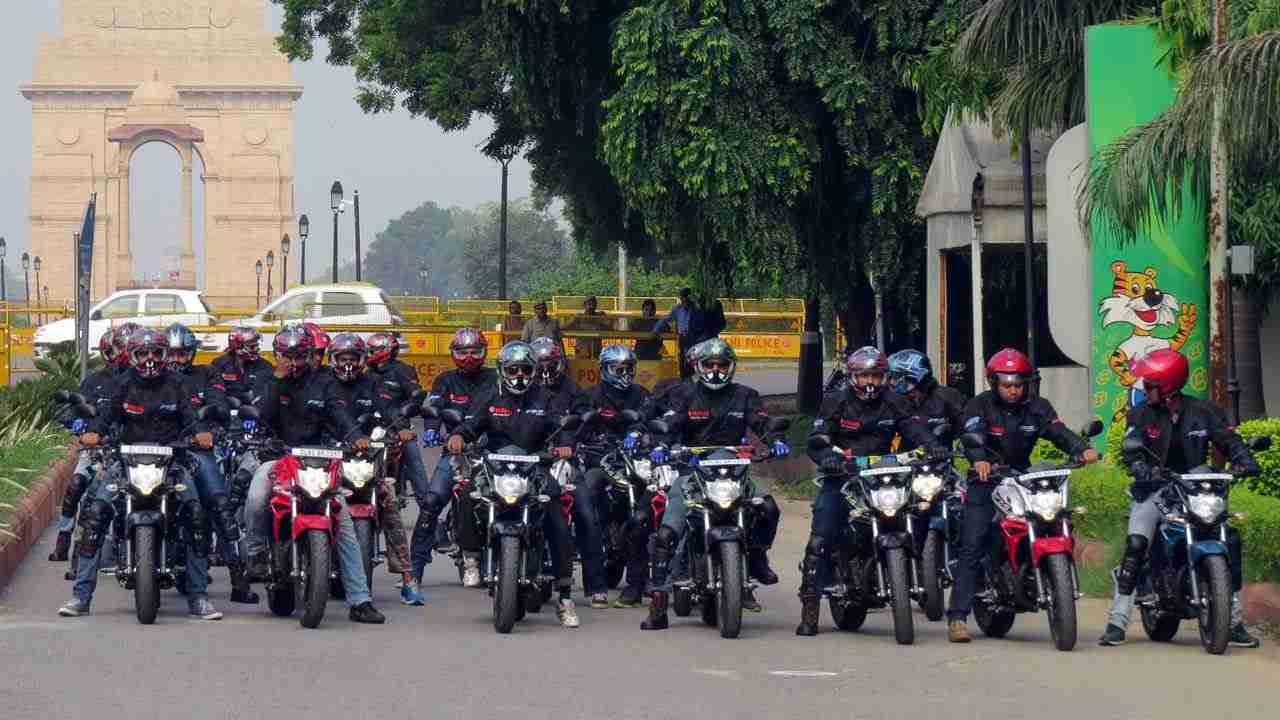 Yamaha's 'Mission 10000km'