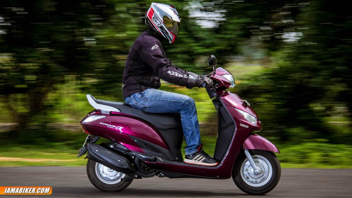 Yamaha Alpha review engine and performance