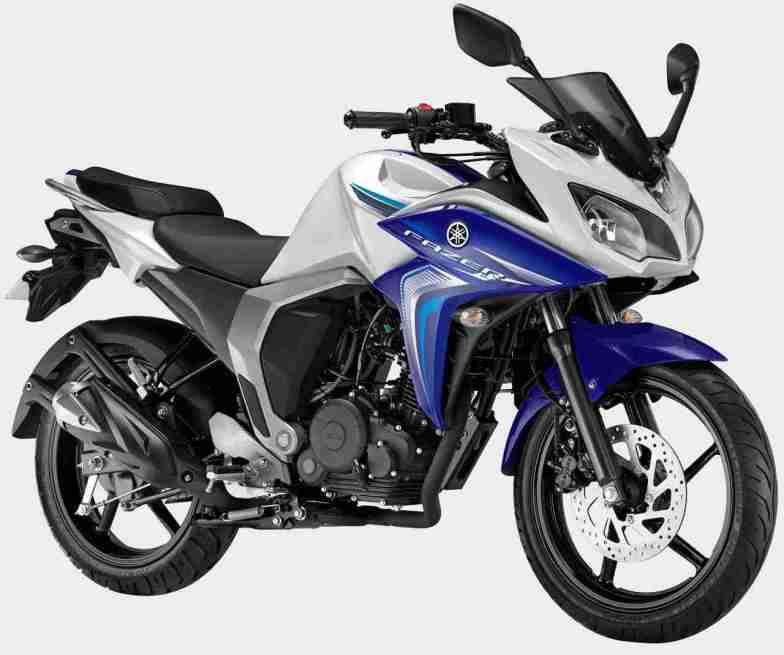 Yamaha Fazer FI version 2.0 colour