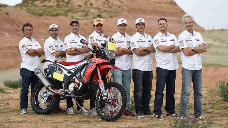 honda dakar rally team 2015