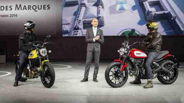 Ducati Scrambler unveiling Intermot 2014