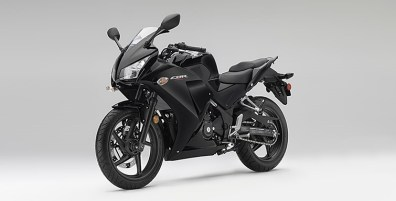 new honda cbr300r colour black