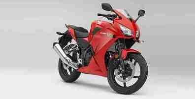 new honda cbr300r colour red