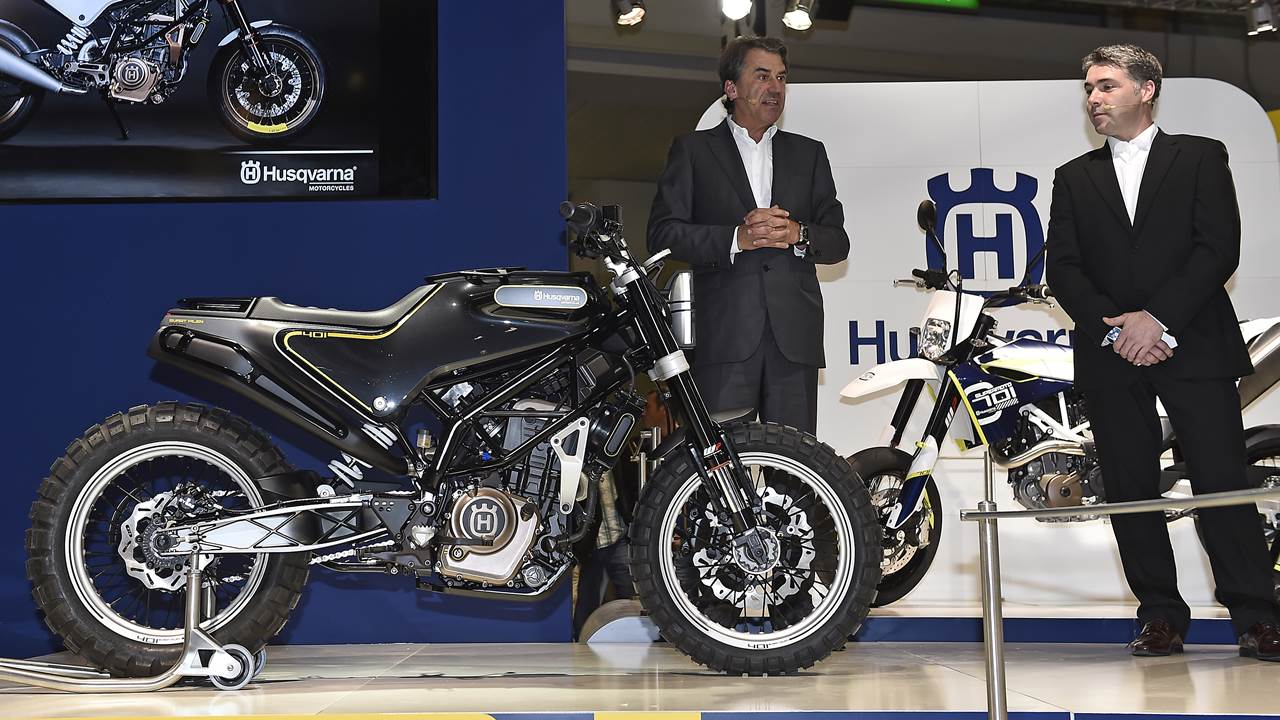 Husqvarna present new road going motorcycles