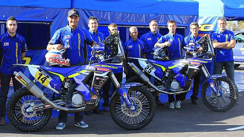 Sherco TVS Rally Factory team riders
